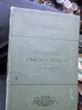 ANTIQUE HB BOOK 1897 ANABIS OF XENOPHON BOOK II GM EDWARDS PITT PRESS WITH MAP